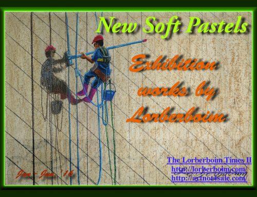 Lorberboim's New Exhibition      Soft Pastels Jan- Jun 2016         http://artnot4sale.com/new-exhibition/