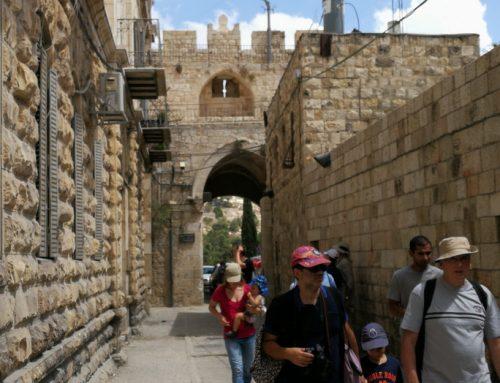 Tourist in Jerusalem, Israel. Sep 2018. .תייר בירושלים, ישראל
