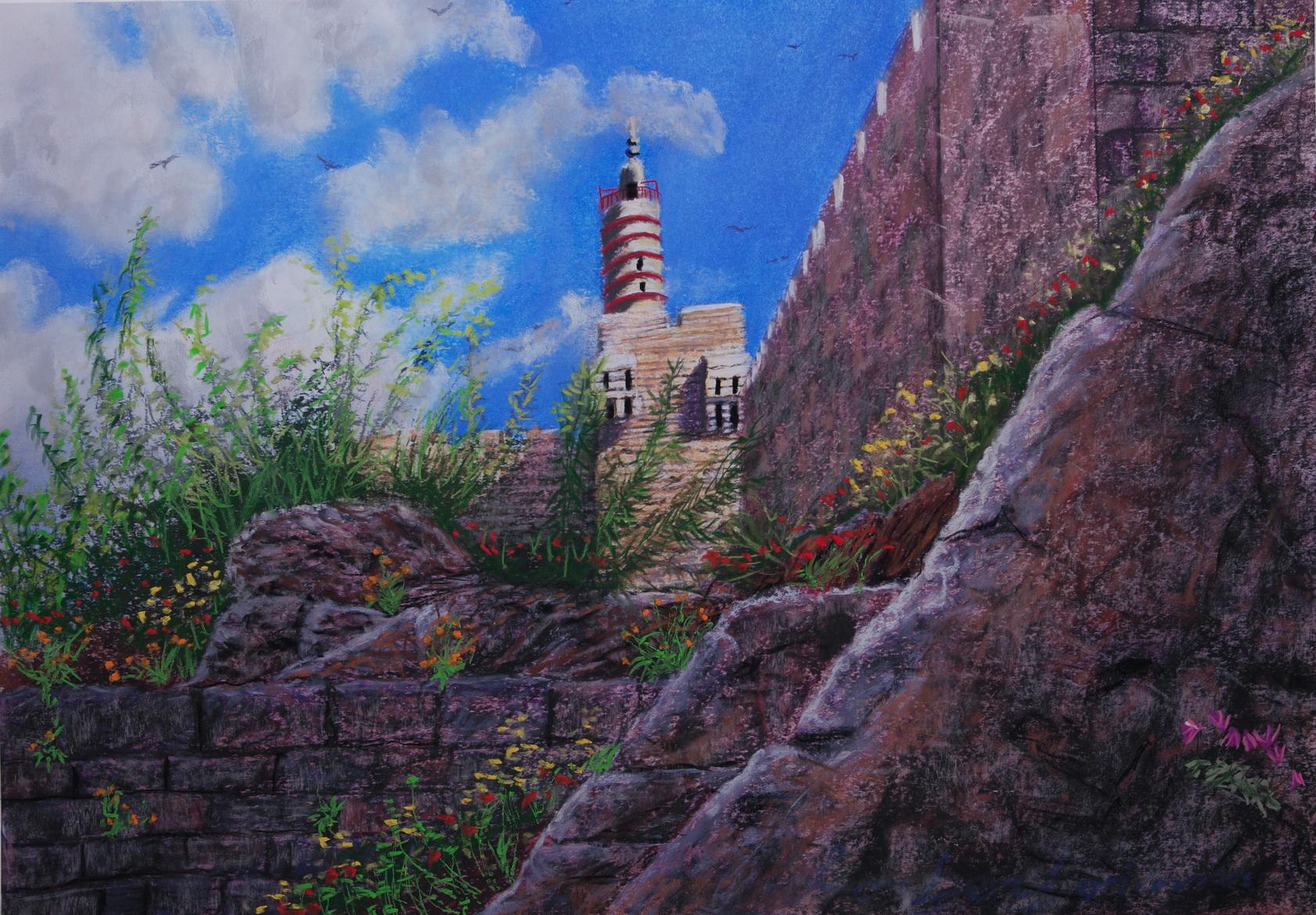 Tower of David, Yerushlaim, Israel. 31 May.   מגדל דוד, ירושלים, ישראל